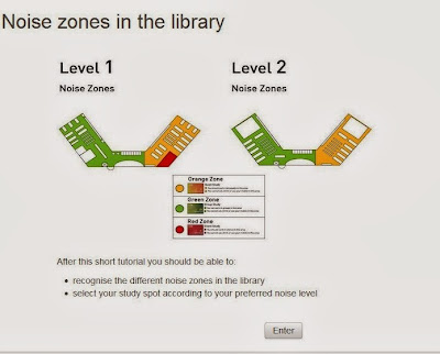 Itb Library Noise Zones In The Library
