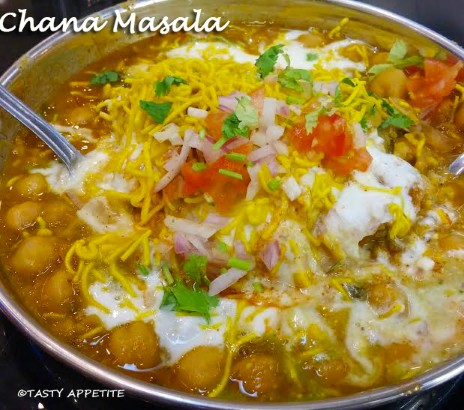 Chana masala recipe punjabi chana masala chaat easy snack recipes forumfinder Gallery