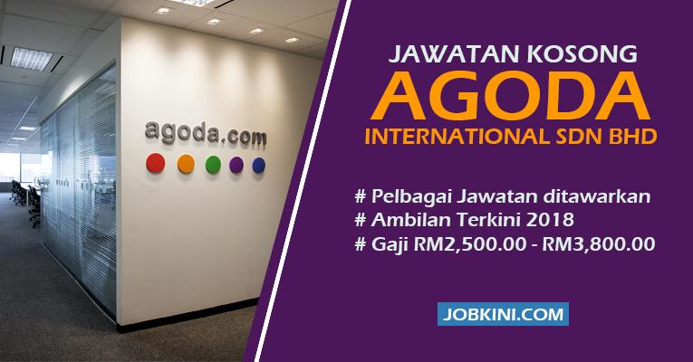 Jawatan Kosong di Agoda International Sdn Bhd