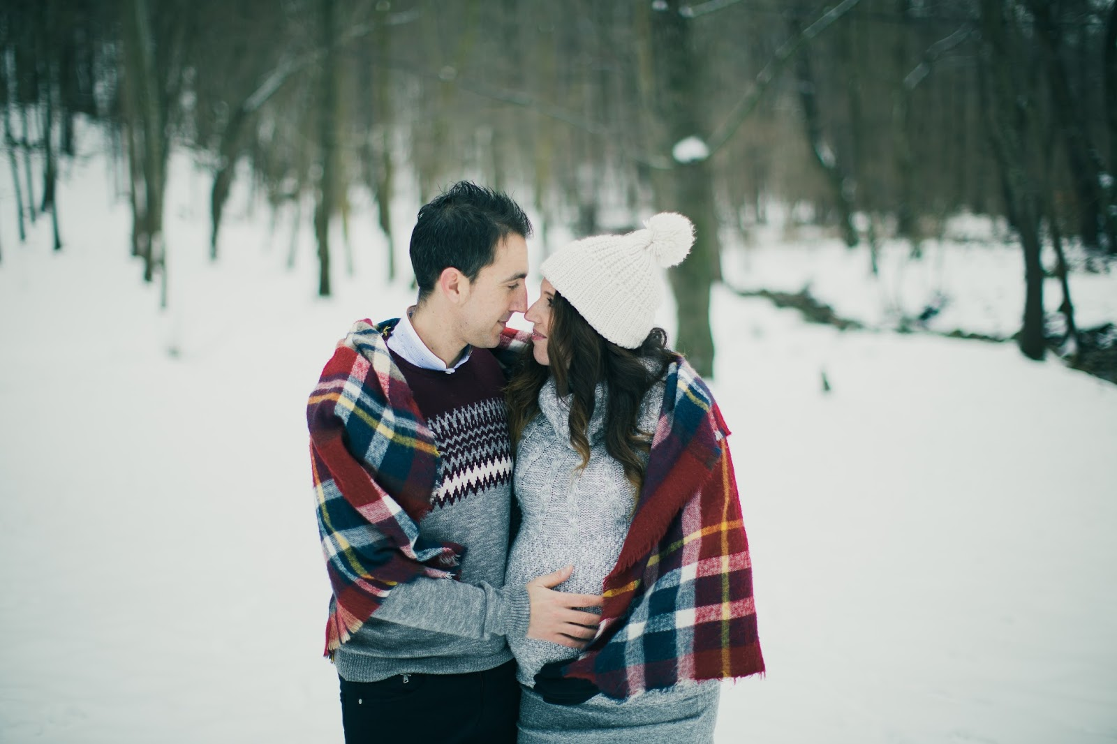 e1fc87d5f Dulce espera +Sesión embarazo en la nieve - Sweet Carol - Blog