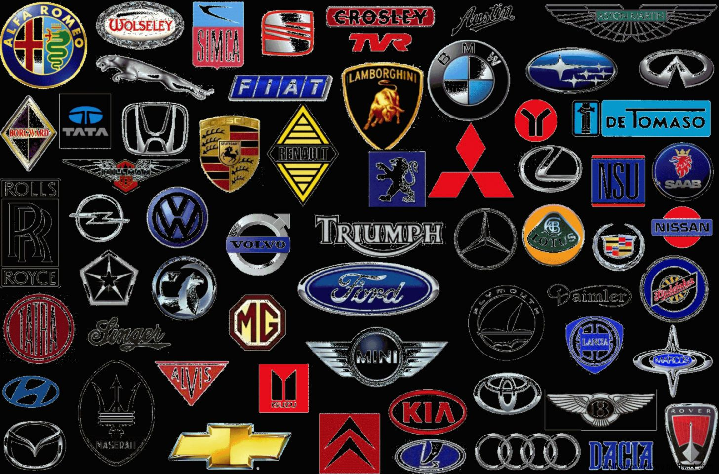 Foreign Luxury Car Logos | Wallpapers Gallery