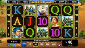 Jucat acum Imperial Wars Slot Online