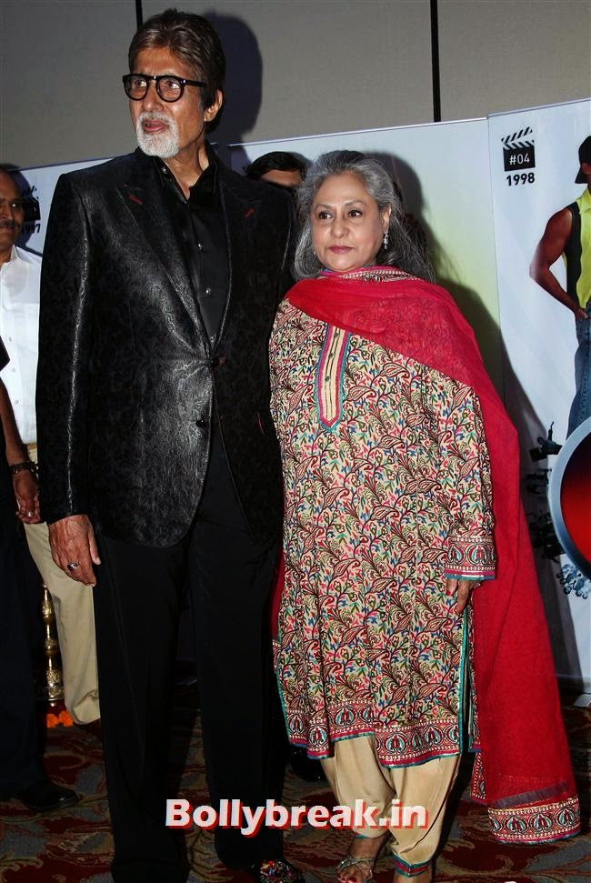 Amitabh Bachchan and Jaya Bachchan, Vashu Bhagnani's Puja Films 25 Film Completion Party