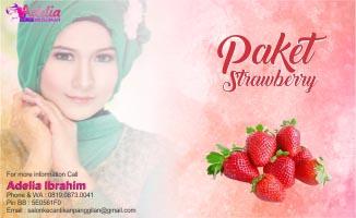 Paket Strawberry Salon