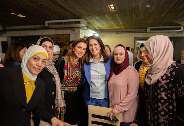 Royal Academy for Nature Conservation Restaurant in Ajloun. Queen Rania also visited the Biscuit House