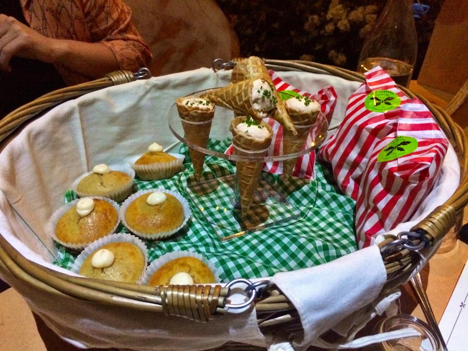Picnic basket of savoury surprises - Lost Gardens Of Gingerline London