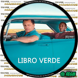 GALLETA 2 GREEN BOOK: UNA AMISTAD SIN FRONTERAS - LIBRO VERDE - GREEN BOOK [COVER DVD]