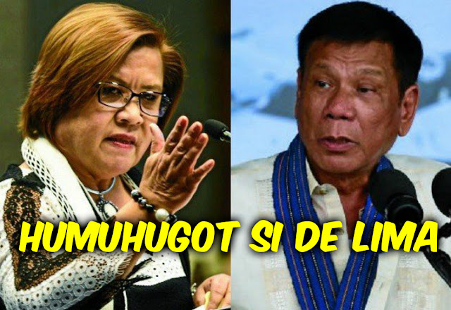 De Lima: Nagmamahal na ang dolyar pero si Duterte nagmumura pa rin