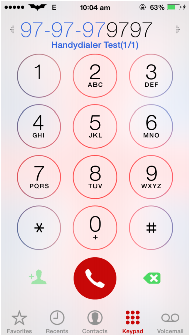 HandyDialer Cydia Tweak