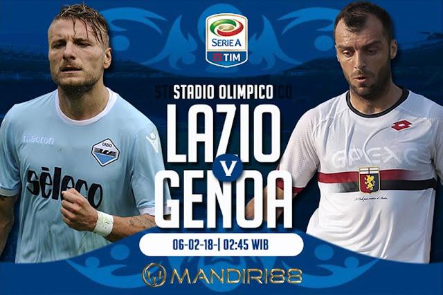 Prediksi Lazio Vs Genoa , Selasa 06 February 2018 Pukul 02.45 WIB @ JakTV