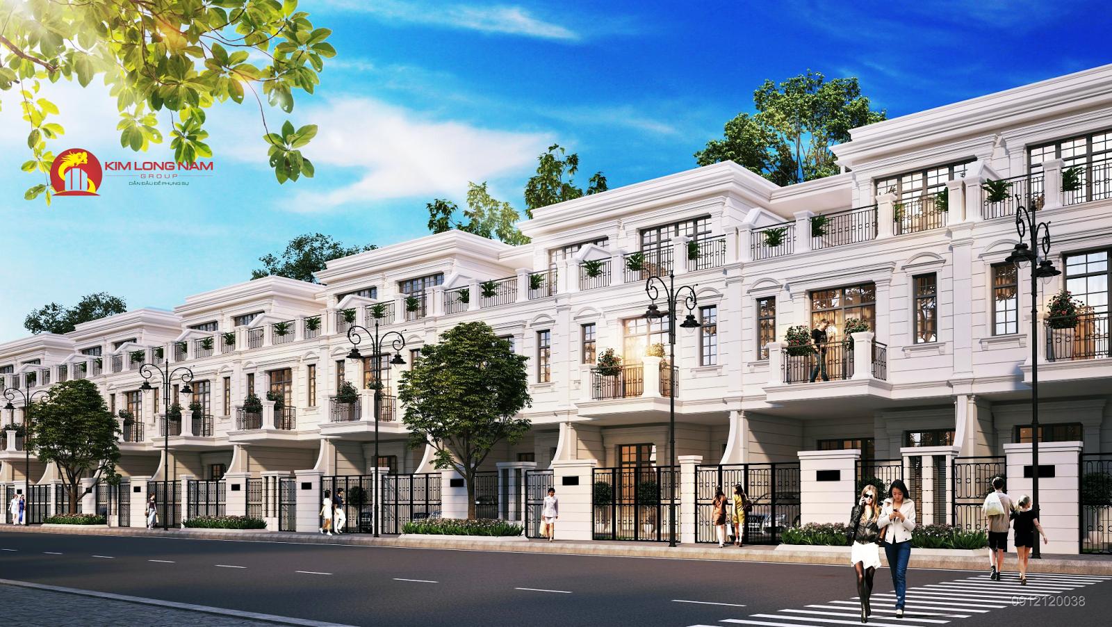 Liền kề dự án Kim Long Ocean Thuận Phước