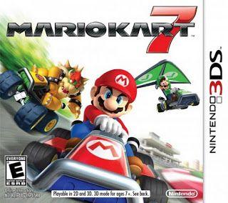 Mario Kart 7, 3DS, Español, Mega, Mediafire