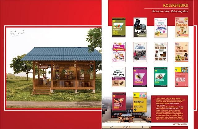 Buku Kesenian dan Keterampilan Untuk Perpustakaan Desa