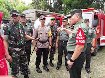 Pasukan Pengamanan VVIP di Palu, Kodam XIII/Merdeka Gelar Kesiapan