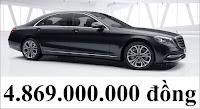 Giá xe Mercedes S450 L Luxury 2018