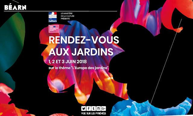 Rendez-vous aux jardins Béarn Pyrénées 2018