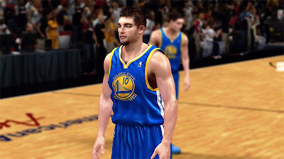 NBA 2K13 David Lee Realistic Face Mods