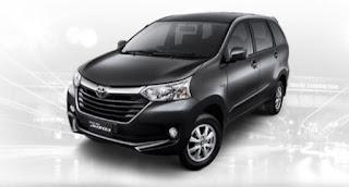 Harga Toyota Avanza di Pontianak Warna Black Metallic