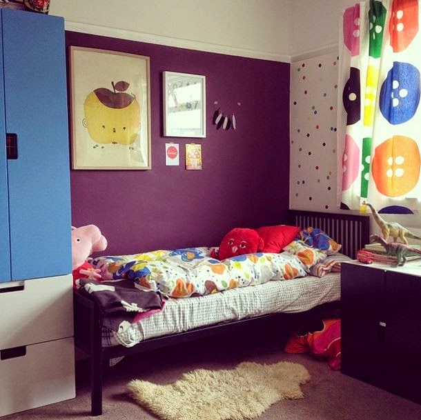 Kids Rooms Eclectic: The Boo And The Boy: Eclectic Kids' Rooms From Instagram