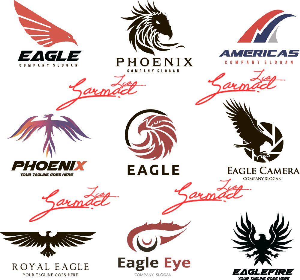 download free logo design psd template elements