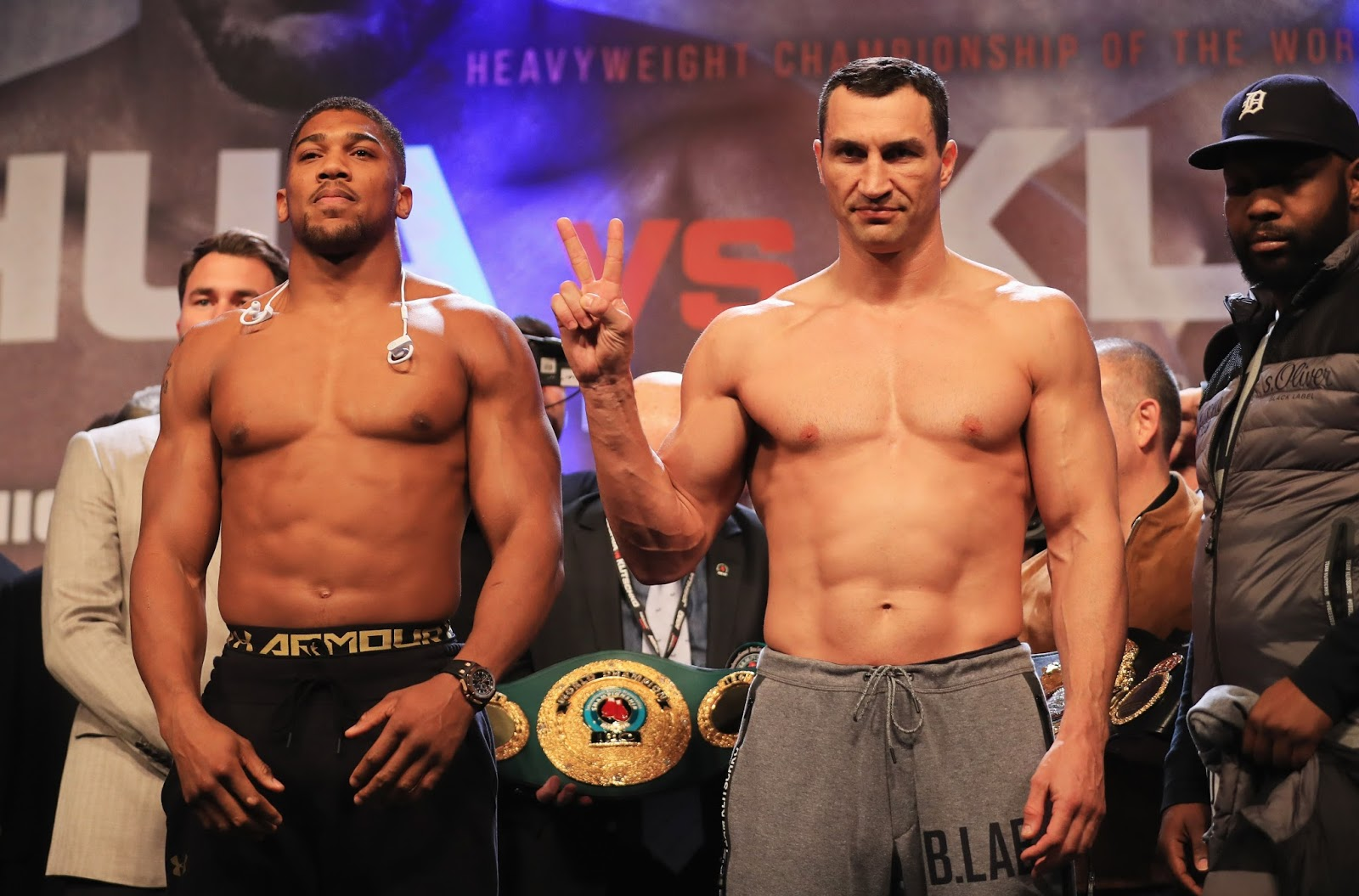 ANTHONY JOSHUA VS. WLADIMIR KLITSCHKO 8