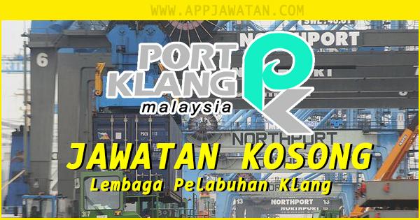 Jawatan Kosong kerajaaan iaitu di Lembaga Pelabuhan Klang