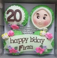 Cupcake Ulang Tahun Lucu dan Cantik Untuk Cewek