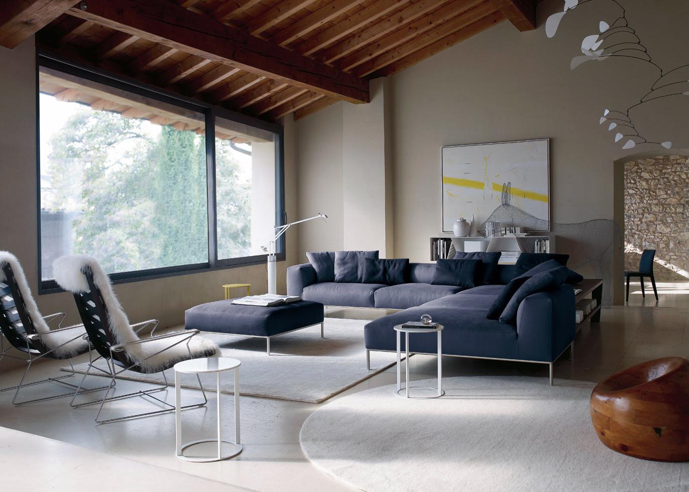 Moderne innredning fra b & b italia   interiør inspirasjon