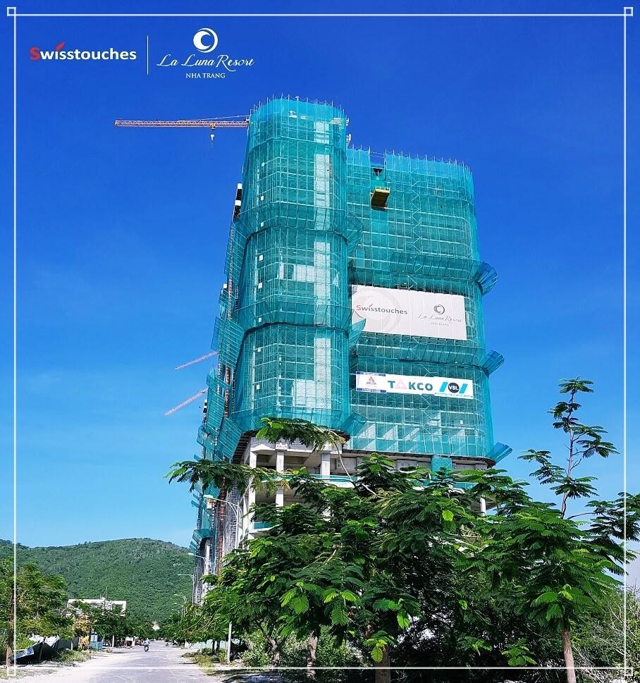 Dự án condotel La Luna Resort - Hình ảnh cập nhật T10