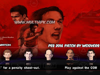 PES 2016 V5 Patch by WE10vers Update Transfer PPSSPP