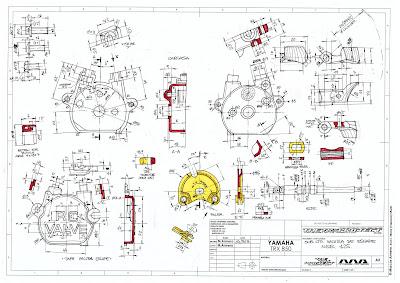 The TRX Project. The Yamaha TRX 850 blog: Honda NSR 125