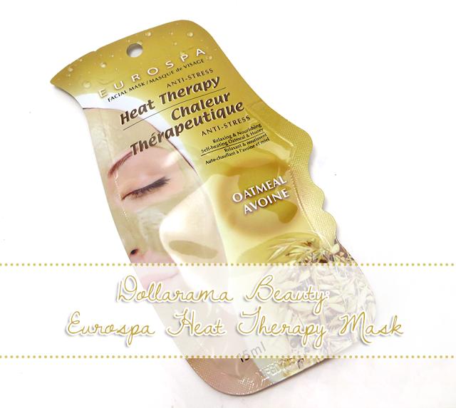 Eurospa Anti-Stress Heat Therapy Oatmeal Mask