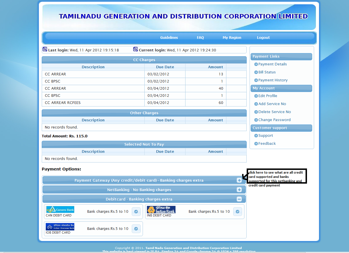 How to pay tamilnadu or chennai electricity bill/current ...