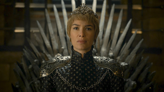 Cersei Lannister in Iron Throne