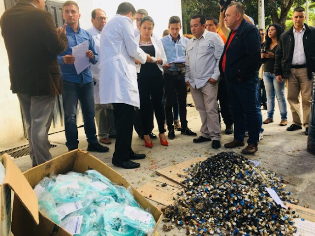 En plena escasez: Hallan lote de medicinas vencidas e incineradas en San Cristóbal