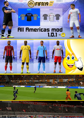 FIFA 19 South & Central American Mod 2019 by IMS