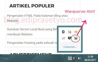 Install Server Localhost di komputer untuk belajar membuat website