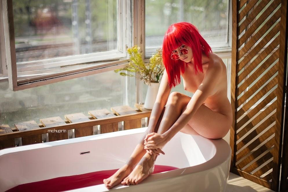 Disha Shemetova - All Colors Of Hair (by Maxim Chuprin) - Girlsdelta