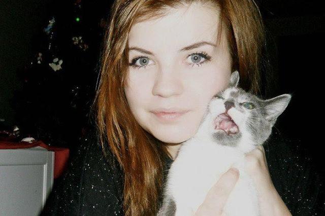 13 chú mèo ghét cay ghét đắng việc selfie cùng chủ nhân