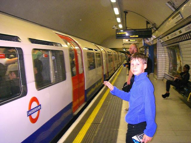 resa med barn till London