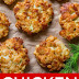 Cheesy Chicken Fritters Recipe
