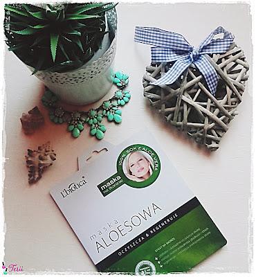 L'biotica Maska Na Takaninie Aloesowa, Oczyszczanie i Regeneracja