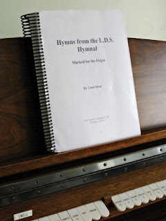 Hymns from the L.D.S. Hymnal Marked for the Organ