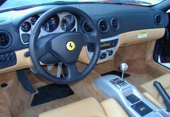 2002 Ferrari 360 - Interior Pictures - CarGurus |Ferrari 360 Modena Interior