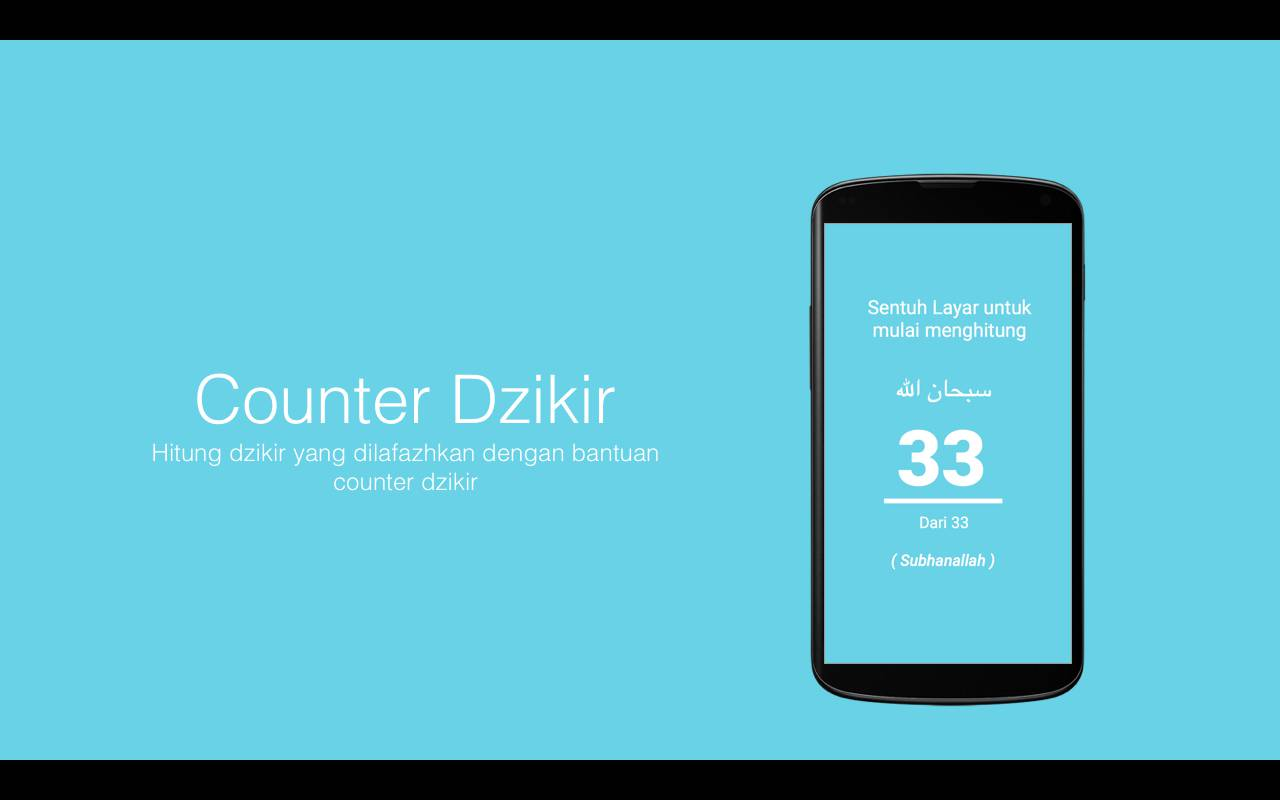 Screenshot Dzikir Counter
