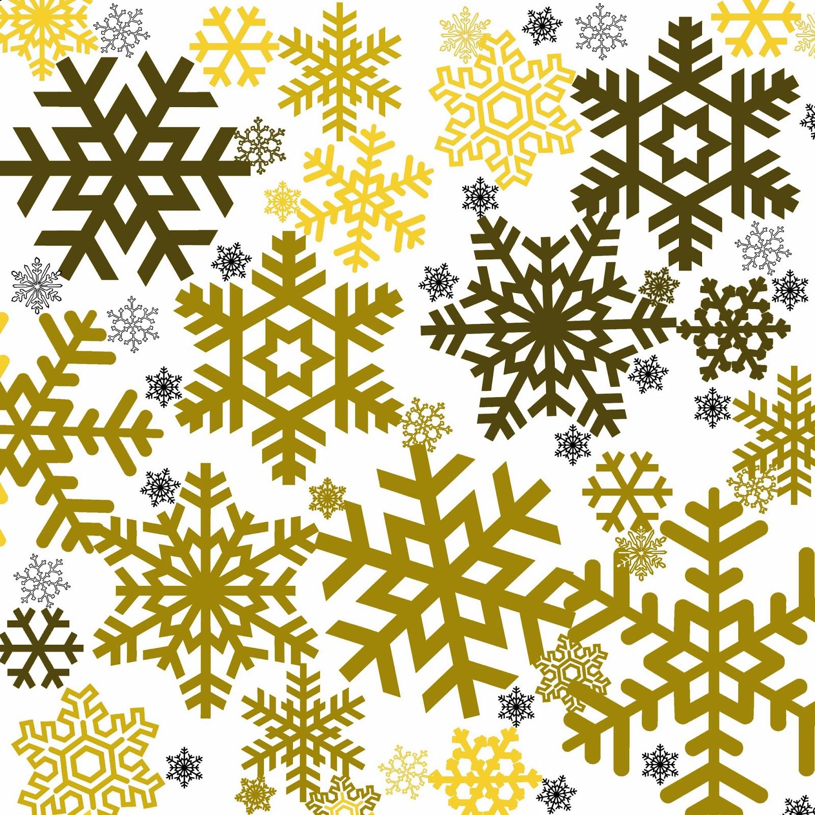 Freebie Week More Snowflakes