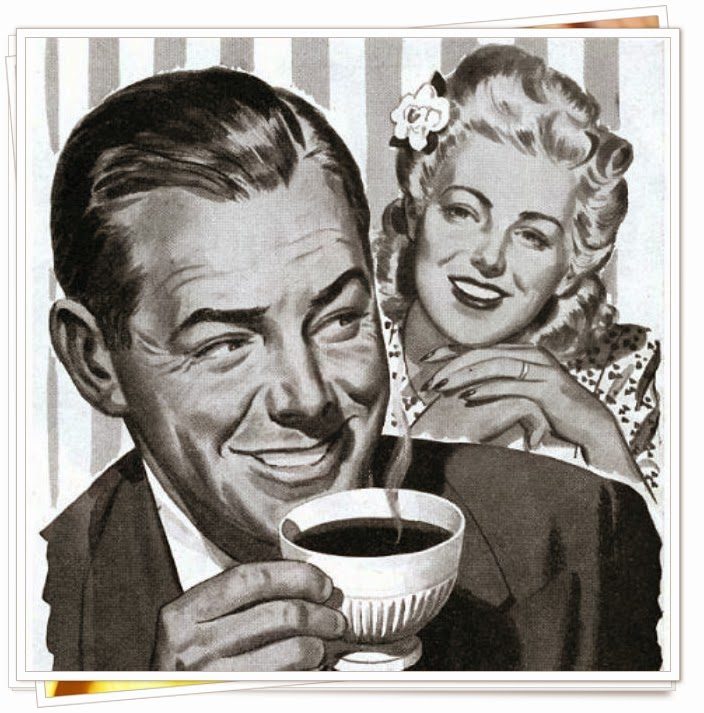 Vintage coffee advertisement