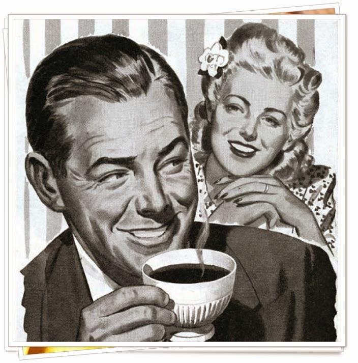 Vintage coffee advertisement