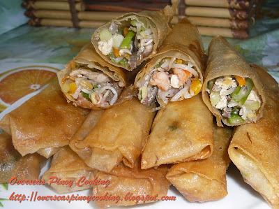 Lumpiang Gulay, Lumpiang Togue, Fried Vegetable Roll