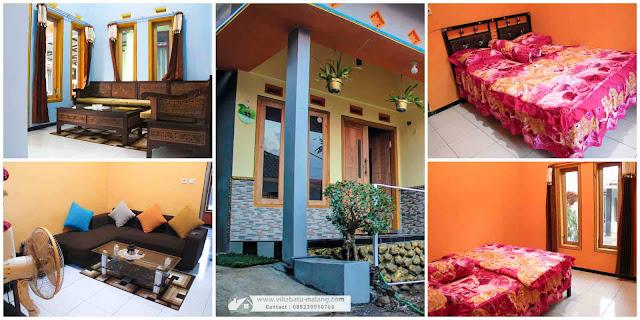 Homestay Ratu Villa Murah di Batu Malang
